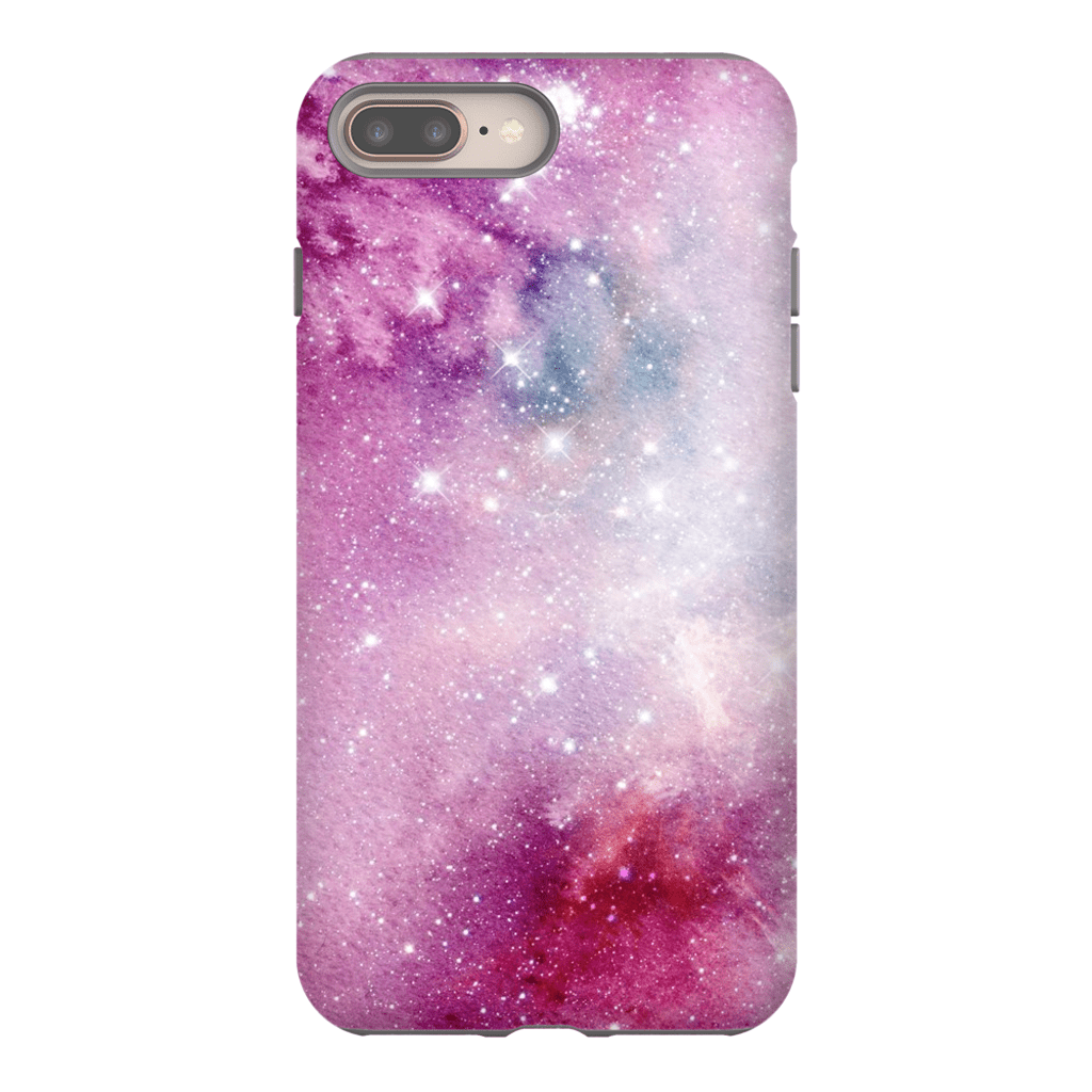 Pink Star Clouds iPhone 8 and 8 Plus Tough Case - Purdycase