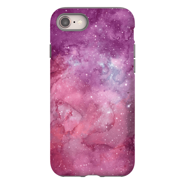 Purple Pink Stars iPhone 8 and 8 Plus Tough Case - Purdycase