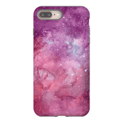 Purple Pink Stars iPhone 8 and 8 Plus Tough Case