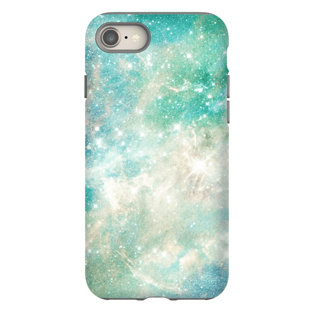 Turquoise Space iPhone 8 and 8 Plus Tough Case