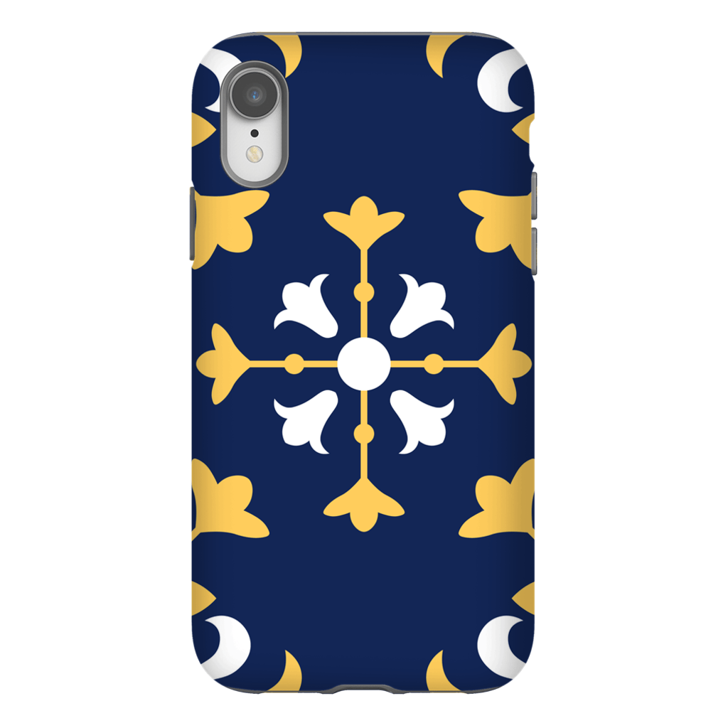 Moroccan Blue iPhone X-XS Max Series Tough Case - Purdycase