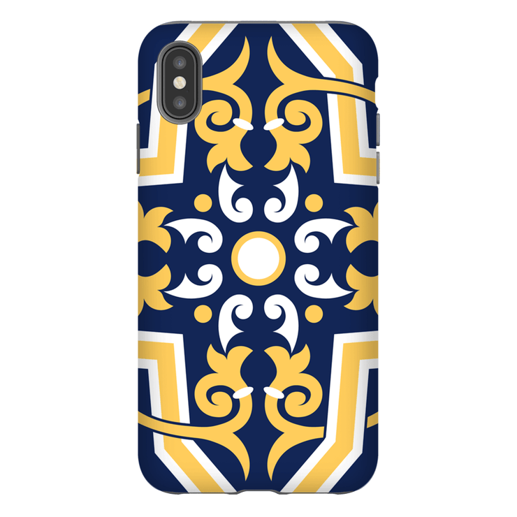 Moroccan Flower Circle iPhone X-XS Max Series Tough Case - Purdycase