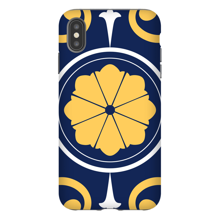 Moroccan Yellow Circle iPhone X-XS Max Series Tough Case - Purdycase