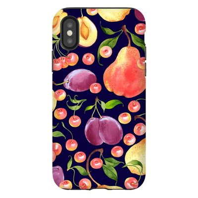 Grapes and Pears iPhone X-XS Max Series Tough Case - Purdycase