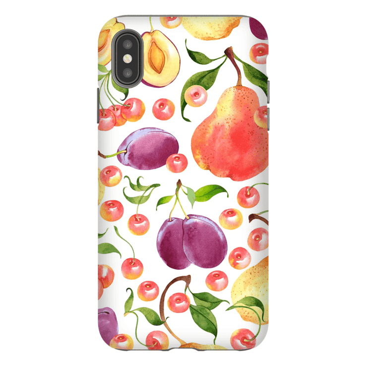 Grapes iPhone X-XS Max Series Tough Case - Purdycase