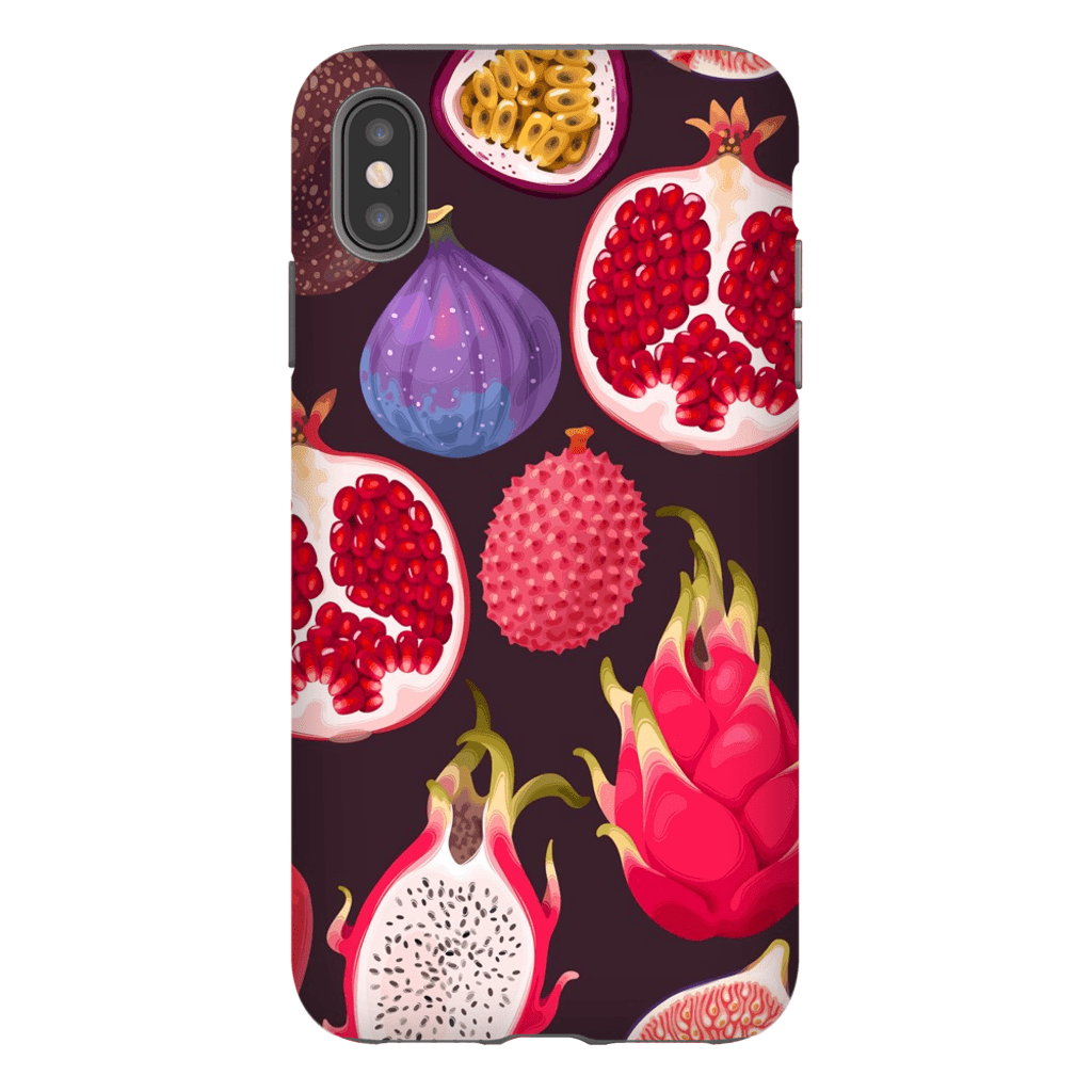 Exotic Dragon Fruit iPhone X-XS Max Series Tough Case - Purdycase