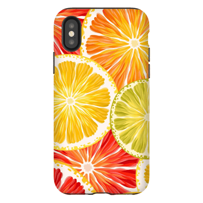 Citrus Fruit iPhone X-XS Max Series Tough Case - Purdycase