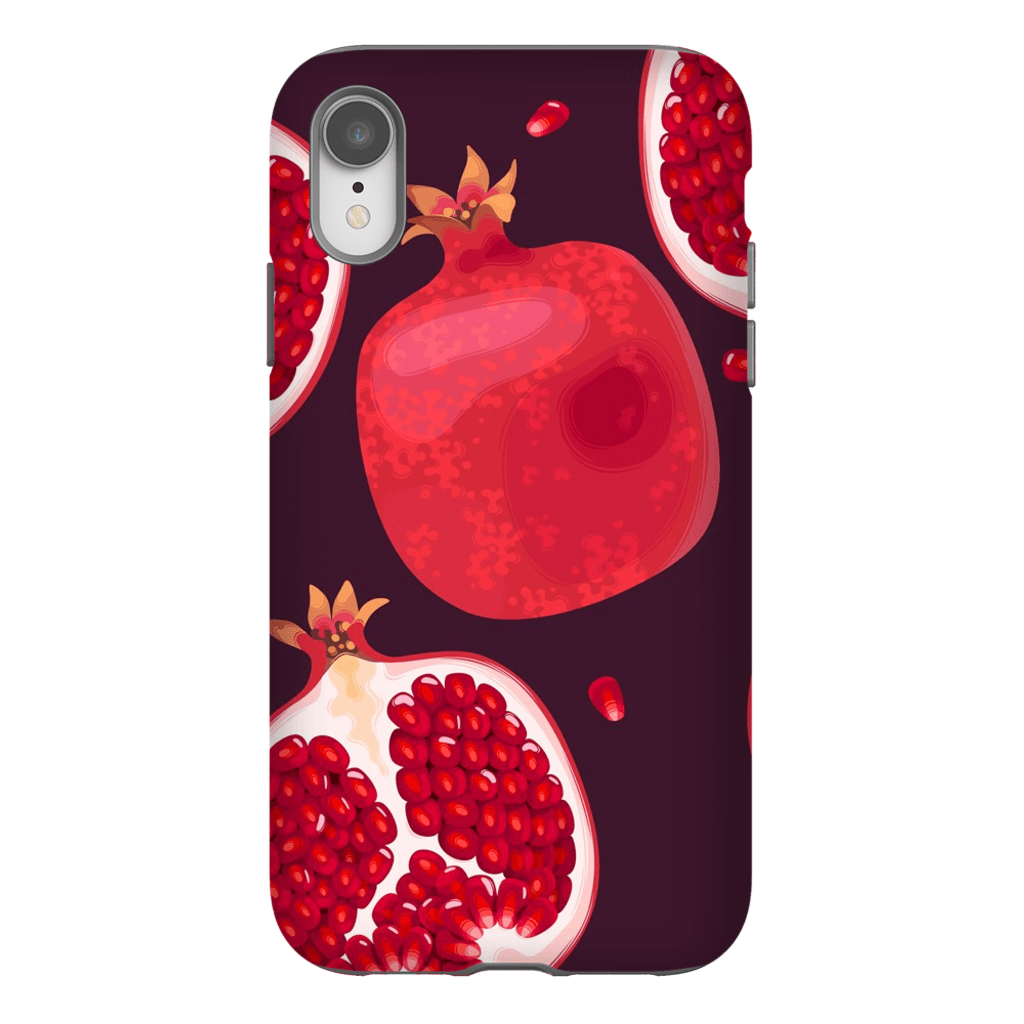 Pomegranate iPhone X-XS Max Series Tough Case - Purdycase