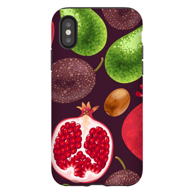 Fruit Medley iPhone X-XS Max Series Tough Case - Purdycase