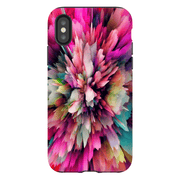 Pink Abstract iPhone X-XS Max Series Tough Case - Purdycase
