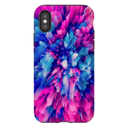 Pink Cloud Abstract iPhone X-XS Max Series Tough Case