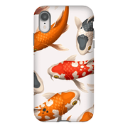 White Koi Fish iPhone X-XS Max Series Tough Case