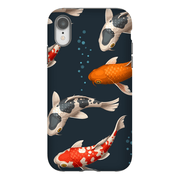 Koi Bubbles iPhone X-XS Max Series Tough Case