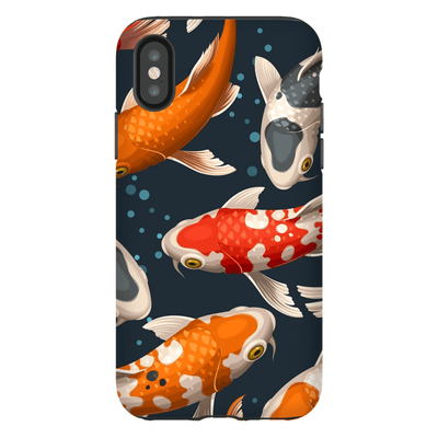 Koi Fish iPhone X-XS Max Series Tough Case