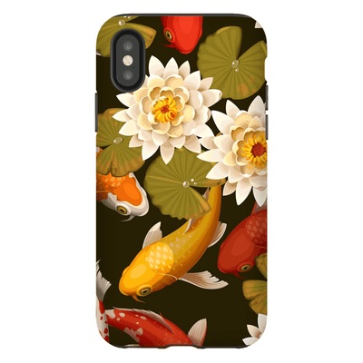 Koi Lily Pond iPhone X-XS Max Series Tough Case