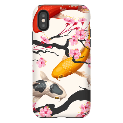 Japanese Koi iPhone X-XS Max Series Tough Case