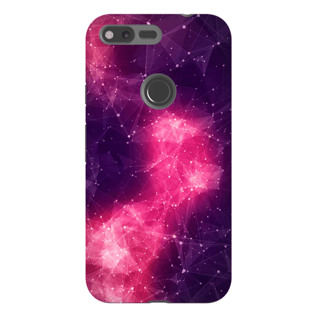 Abstract Pink Space Google Pixel, Pixel XL, 2, 2XL Tough Case