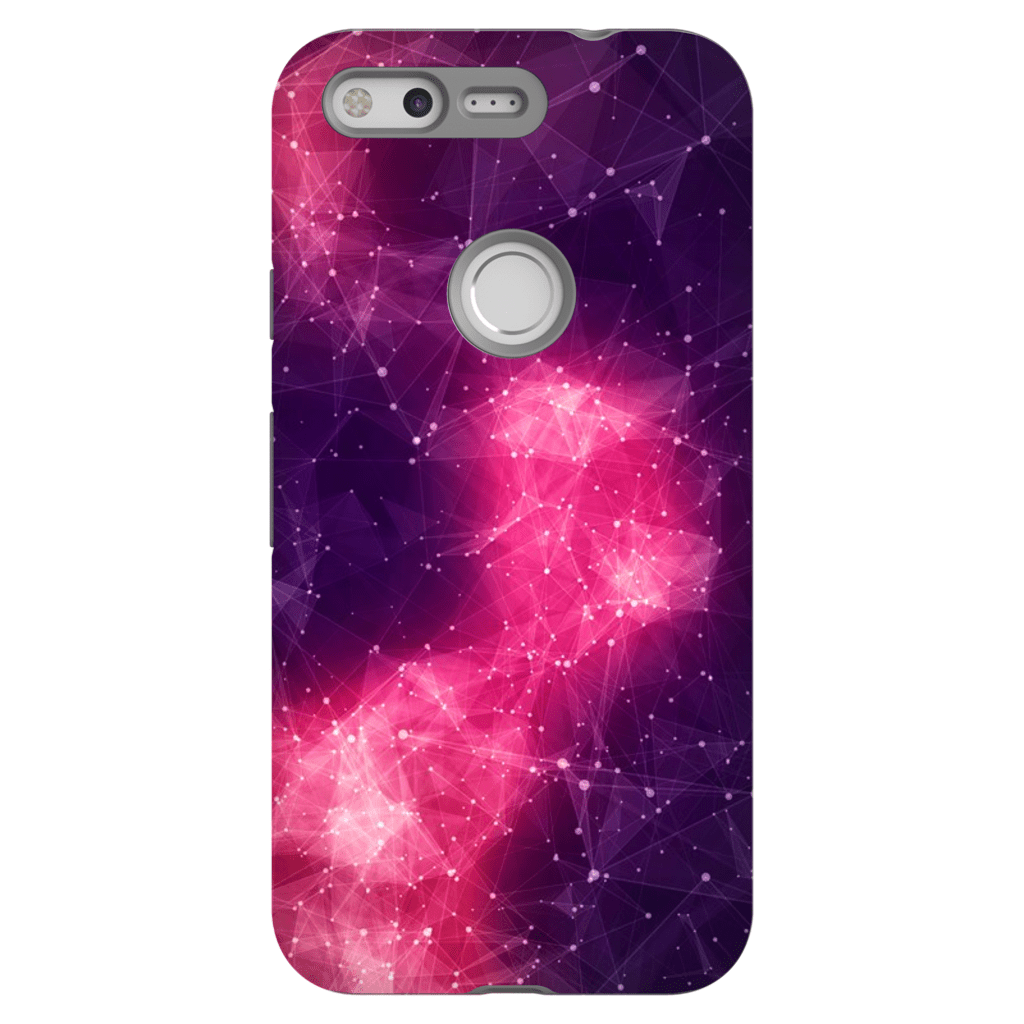 Abstract Pink Space Google Pixel, Pixel XL, 2, 2XL Tough Case - Purdycase