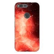 Abstract Red Space Google Pixel, Pixel XL, 2, 2XL Tough Case