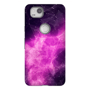 Abstract Purple Space Google Pixel, Pixel XL, 2, 2XL Tough Case