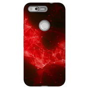 Abstract Fire Space Google Pixel, Pixel XL, 2, 2XL Tough Case