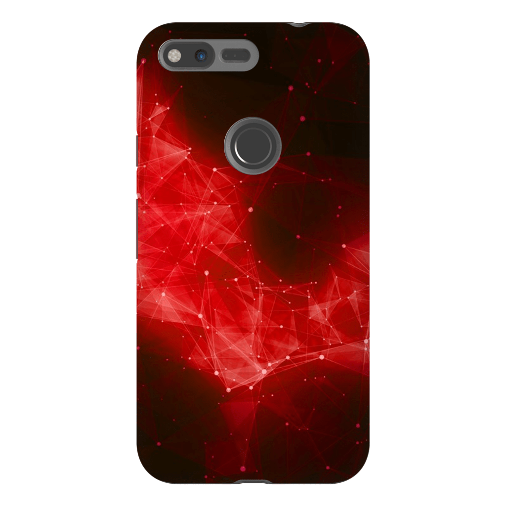 Abstract Fire Space Google Pixel, Pixel XL, 2, 2XL Tough Case - Purdycase
