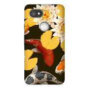 Koi Pond Google Pixel, Pixel XL, 2, 2XL Tough Case