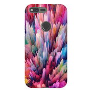 Abstract Explosion Google Pixel, Pixel XL, 2, 2XL Tough Case