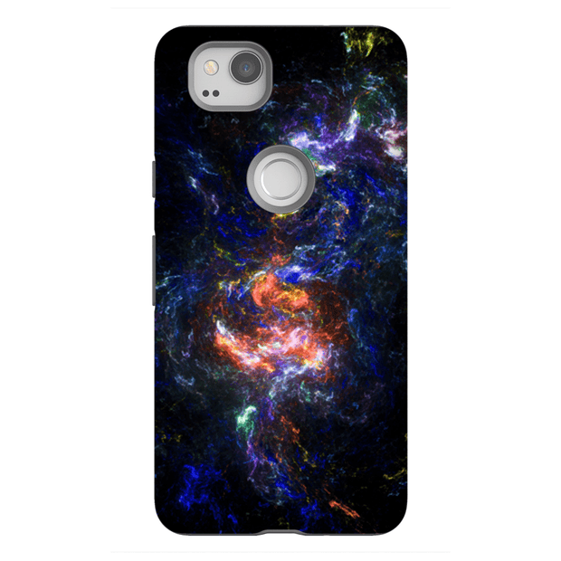 Abstract Blue-Purple Google Pixel, Pixel XL, 2, 2XL Tough Case