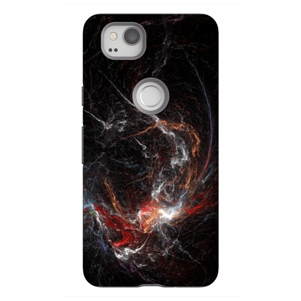 Lightning Abstract Google Pixel, Pixel XL, 2, 2XL Tough Case