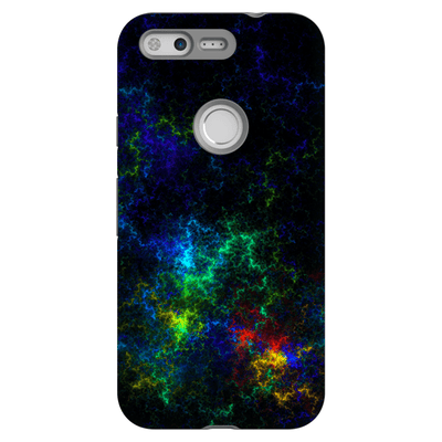 Abstract Rainbow Google Pixel, Pixel XL, 2, 2XL Tough Case - Purdycase