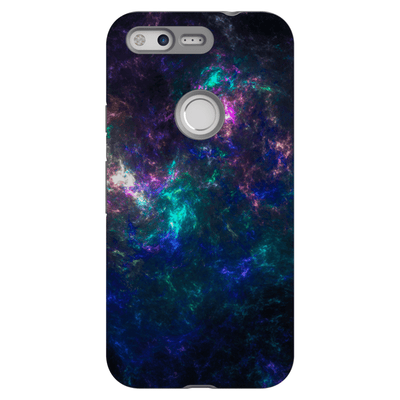 Abstract Purple Google Pixel, Pixel XL, 2, 2XL Tough Case - Purdycase