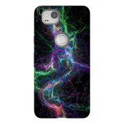 Abstract Lightning Google Pixel, Pixel XL, 2, 2XL Tough Case