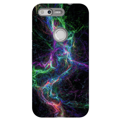 Abstract Lightning Google Pixel, Pixel XL, 2, 2XL Tough Case - Purdycase