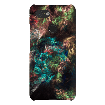 Multi-Color Abstract Google Pixel 3 Snap Case