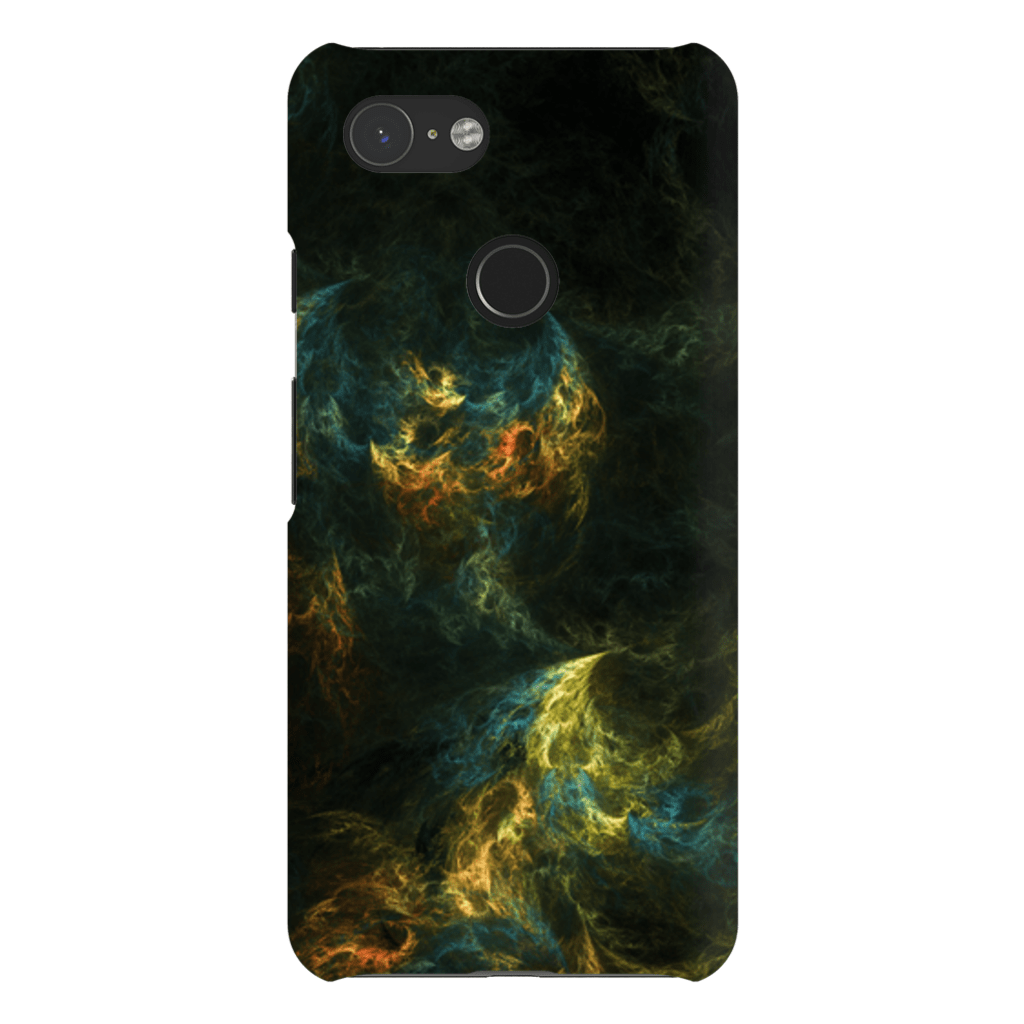 Yellow Abstract Google Pixel 3 Snap Case - Purdycase