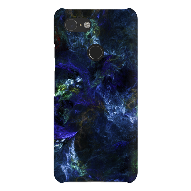 Blue Abstract Google Pixel 3 Snap Case