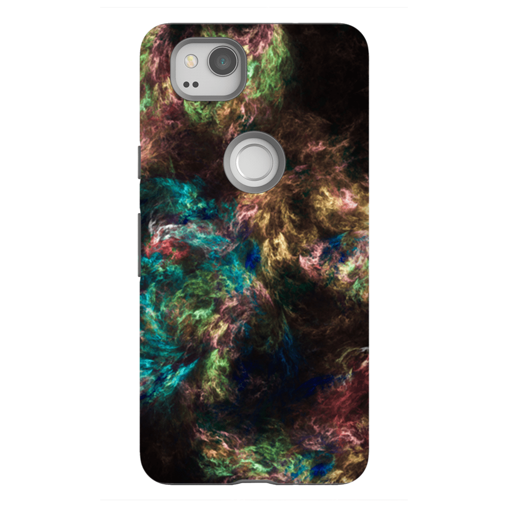 Multi-Color Abstract Google Pixel, Pixel XL, 2, 2XL Tough Case - Purdycase
