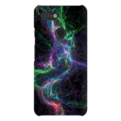 Abstract Lightning Google Pixel 3 Snap Case