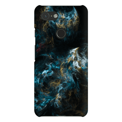 Baby Blue Abstract Google Pixel 3 Snap Case