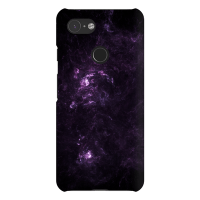 Purple Abstract Google Pixel 3 Snap Case