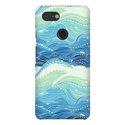 Waves Google Pixel 3 Snap Case