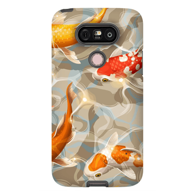 Koi Glare Flower LG G5 Tough Case