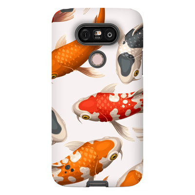 White Koi Fish LG G5 Tough Case