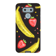 Strawberry Banana LG G5, G6, G7 Tough Case