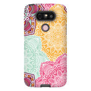 Multi-Color Mandala LG G5, G6, G7 Tough Case