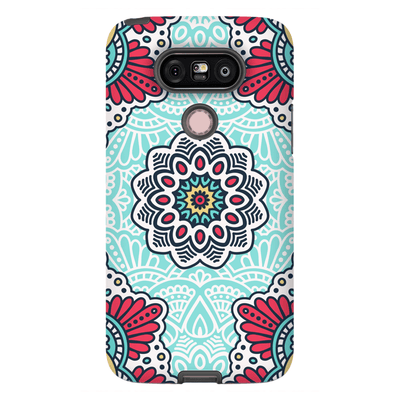 Red Mandala LG G5, G6, G7 Tough Case