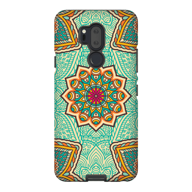 Green Mandala LG G5, G6, G7 Tough Case