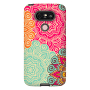 Red Green Mandala LG G5, G6, G7 Tough Case