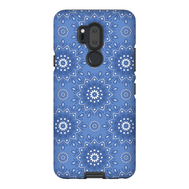 Blue Flower Mandala LG G5, G6, G7 Tough Case